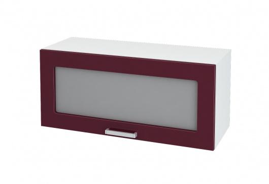 Шкаф горизонтальный со стеклом Глория ШВГС 800
