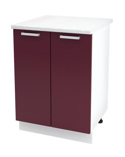 Шкаф нижний 2-х дверный Глория ШН 600