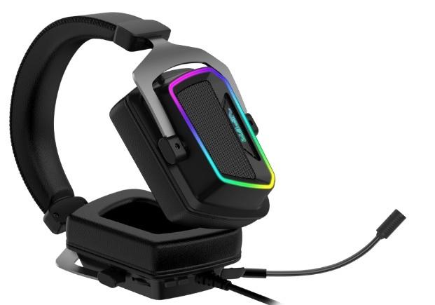 Гарнитура Patriot Viper V380 Virtual 7.1 PC Gaming Headset Black (PV3807UMXEK)