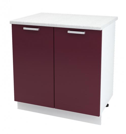 Шкаф нижний 2-х дверный Глория ШН 800