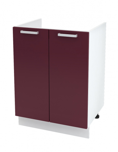 Шкаф нижний 2-х дверный под мойку Глория ШНМ 600