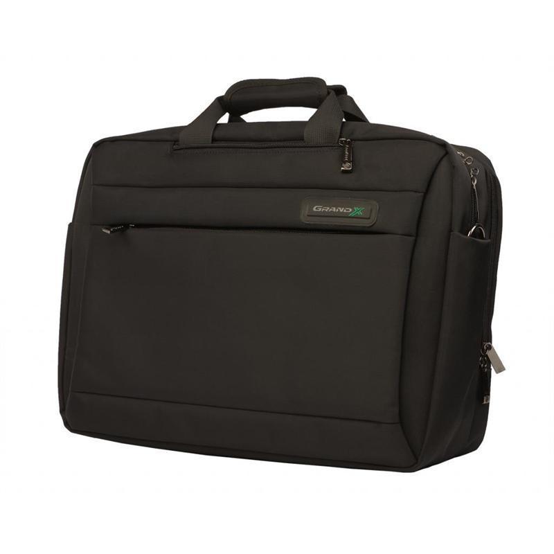 "Сумка-рюкзак для ноутбука Grand-X SB-225 15.6"" Black Nylon"
