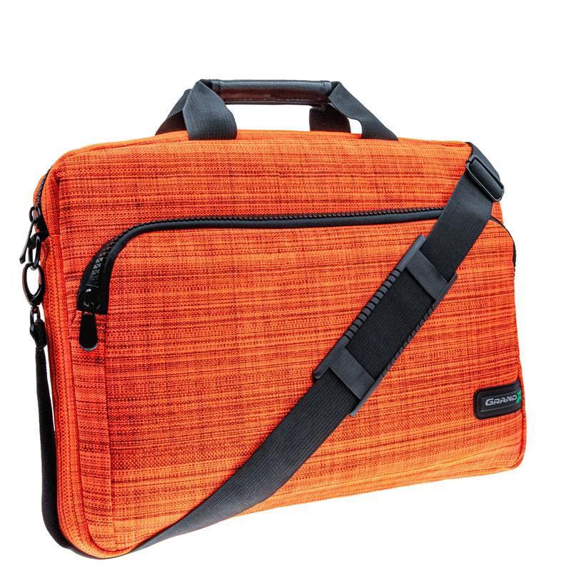 """Сумка для ноутбука Grand-X SB-139XO X-Orange 15.6"""""""