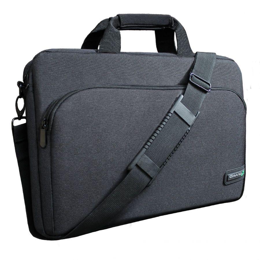 """Сумка для ноутбука Grand-X SB-179 17.4"""" Black Ripstop Nylon"""