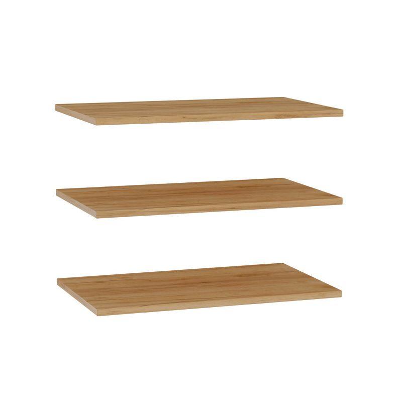 Комплект полок к шкафу одностворчатому (3 шт) «Фиджи»