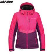 Куртка женская Ski-Doo Ladies Mcode, Розовая мод. 2021