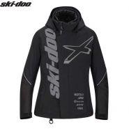Куртка женская Ski-Doo X-Team, Черная мод. 2021