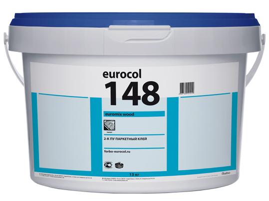 2-К полиуретановый клей для паркета 148 Euromix Wood