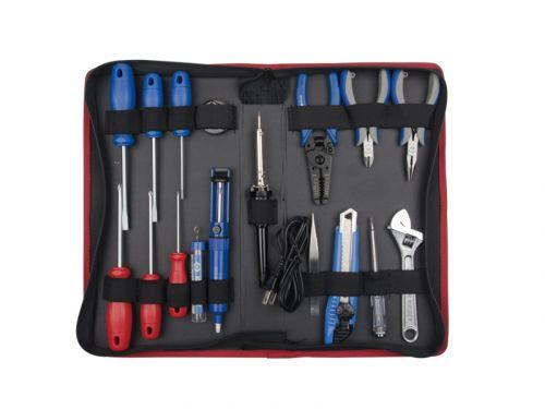 Набор инструментов электрика, 17 предметов KING TONY 90217PQ01
