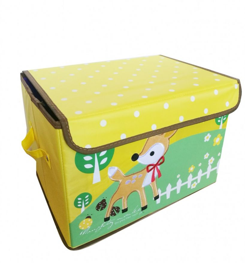 Складной детский короб для хранения игрушек, 37х26х26 см