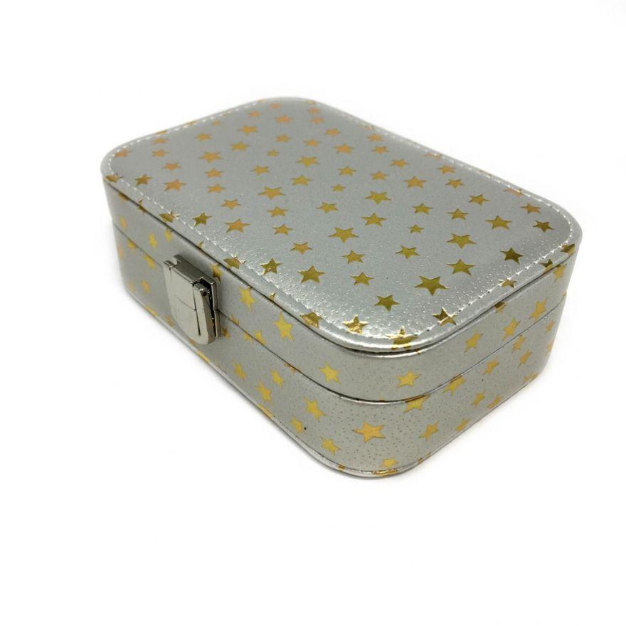 Шкатулка для ювелирных изделий Звёздочки, 15х10х6 см
