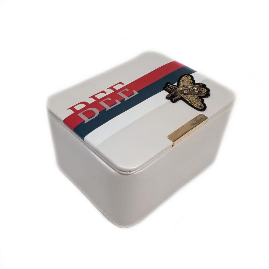 Шкатулка для ювелирных изделий Сундучок Bee, 17х13х9,5 см