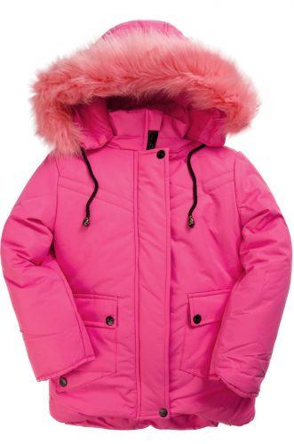 Зимняя куртка для девочек 4-8 лет Bonito OP015K розовый