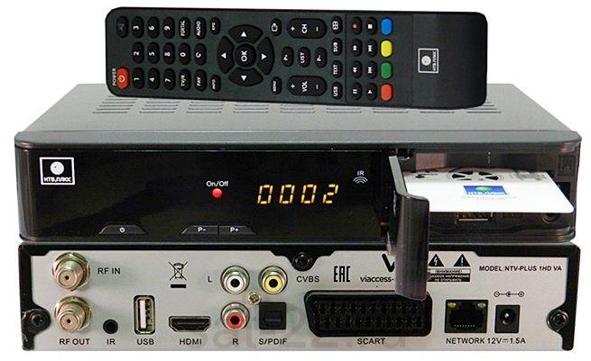 Спутниковый ресивер NTV PLUS 1 HD VA PVR