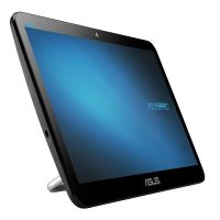 "Моноблок Asus V161GAT-BD002D (90PT0201-M00060); 15.6"" (1366x768) TN сенсорный / Intel Celeron N4000 (1.1 - 2.6 ГГц) / RAM 4 ГБ / HDD 500 ГБ / INTEL HD Graphics 600 / без ОП / LAN / Wi-Fi / Bluetooth / веб-камера / Linux / черный"