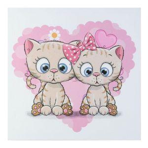 "Картина ""Любимые котики"" 35х35 см 5181072"