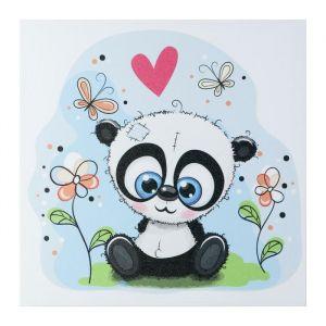 """Картина """"Панда на полянке"""" 35х35 см 5181075"""