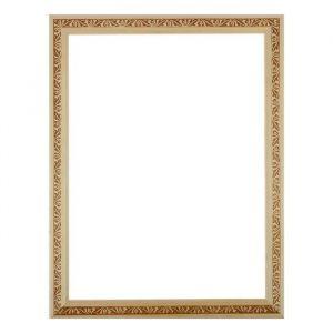 Рама для зеркал и картин, дерево, 30 х 40 х 3.0 см, липа, «Лепесток», горячее тиснение