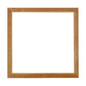 Рама для зеркал и картин, дерево, 35 х 35 х 3.0 см, липа, «Старина», горячее тиснение