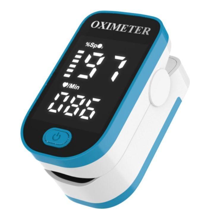Пульсоксиметр OXIMETER медицинский для измерение уровня кислорода и пульса.