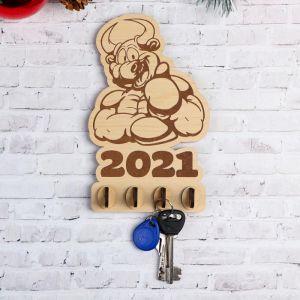 """Ключница """"Бык-боксёр"""" 2021 5363166"""