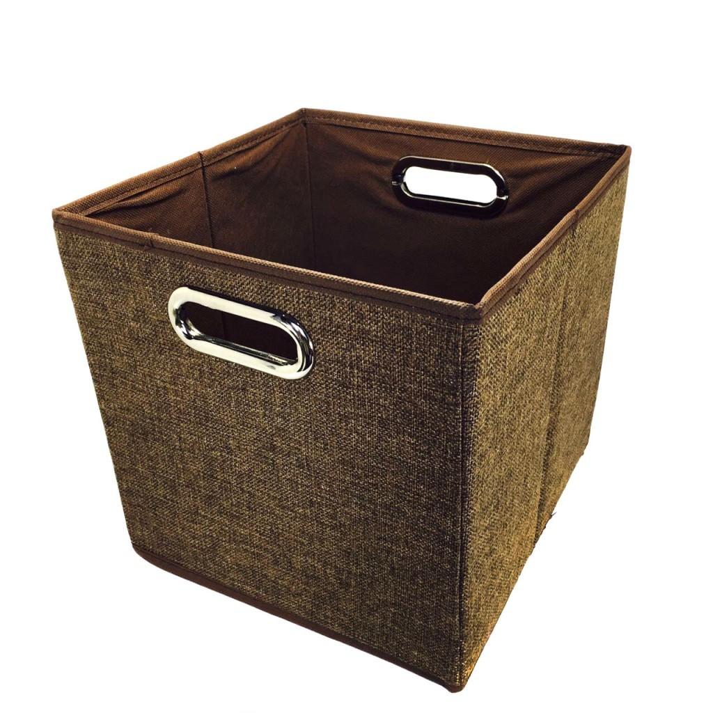 Открытый короб для хранения вещей, 25х25х25 см