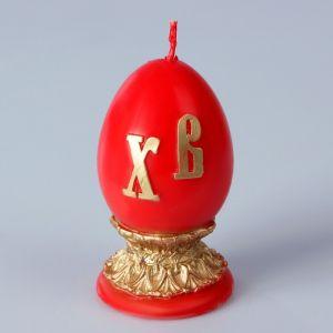 Декоративная свеча «Пасхальное яйцо» малая   3041595