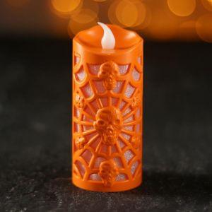 Свеча световая «Паутина», цвета МИКС