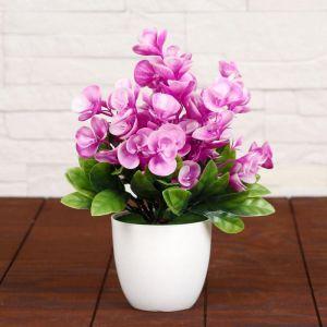 """Бонсай """"Цветочки с листами"""" 9*23 см, микс   4295771"""