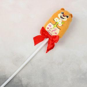 Мягкая игрушка «С 8 марта!», на палочке