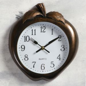"Часы настенные, серия: Кухня, ""Ягодка"", плавный ход, 3 АА, 26х28 см   5165281"