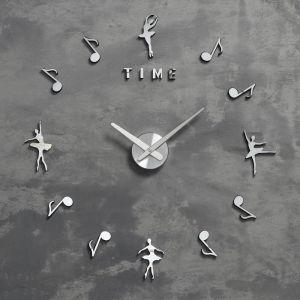 """Часы-наклейка """"Искусство"""" d=70 см, стрелки 22,5 см, 16.5 см, 1АА, плавный ход   5200583"""
