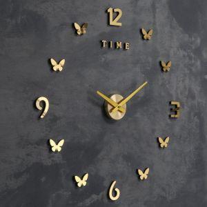 Часы-наклейка d=70 см, стрелки 22,5 см, 16.5 см, 1АА, плавный ход   5200579