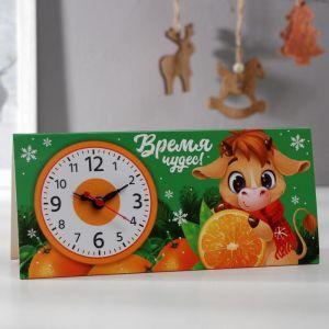 Часы-календарь настольные «Время чудес» 5110358