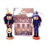 Щелкунчик - набор деревянных ёлочных игрушек 6 шт IR6125G