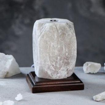 """Соляная лампа """"Пламя арома"""", 15 см, 2-3 кг"""