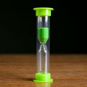 Часы песочные на 1 минуту, 9 см, микс 118765