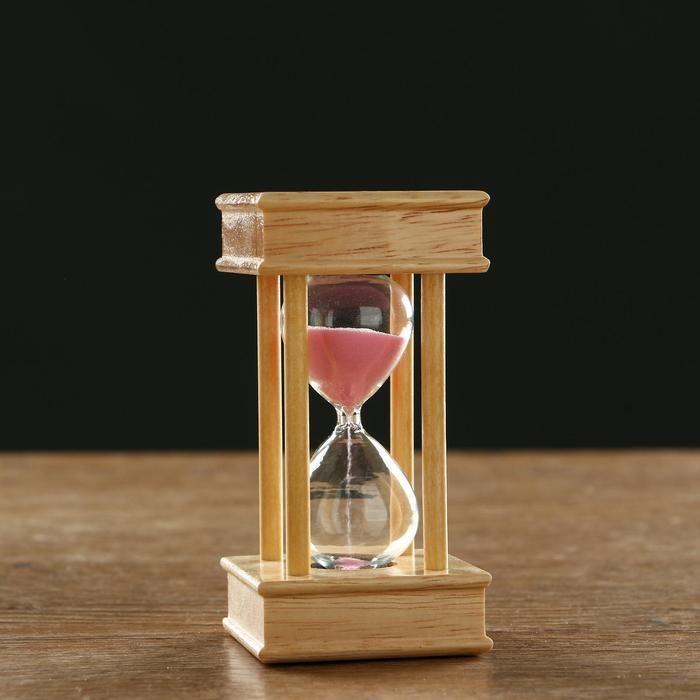"""Часы песочные на 5 минут """"Эссаурия"""",  6х11.5 см, под дерево   5066611"""