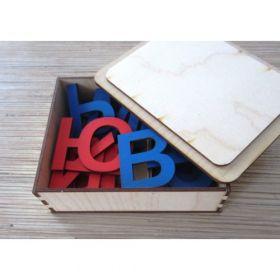 Русский алфавит в коробке