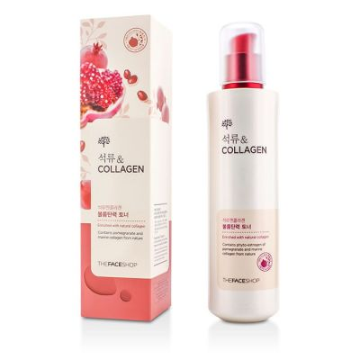 Тонер с экстрактом граната и коллагеном The Face Shop Pomegranate and Collagen Volume Lifting Toner 160мл