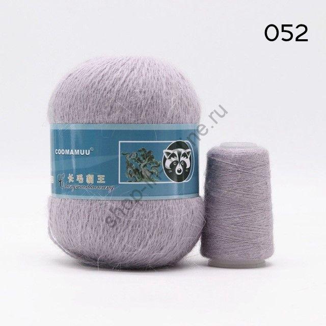 Плюшевая пряжа с шерстью норки 052