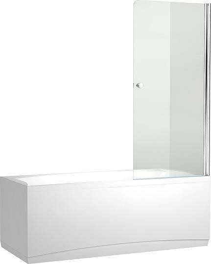 Шторка для ванны Aquanet Alfa 1 NF6211, прозрачное стекло