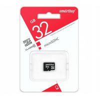 Карта памяти 32GB microSDHC Class10 (SMARTBUY)