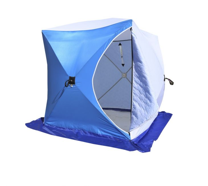 Палатка КУБ-1 трехслойная  дышащая СТЭК 1,5*1,5*1,7