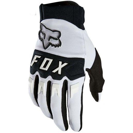 Fox 2021 Dirtpaw White перчатки