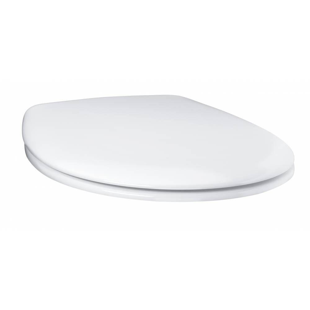Сиденье с крышкой для унитаза Grohe Bau Ceramic 39493000 быстросъемное ФОТО