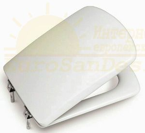 Сиденье с крышкой для унитаза Roca Dama Senso ZRU9302820/ZRU9000041 Soft-Close ФОТО