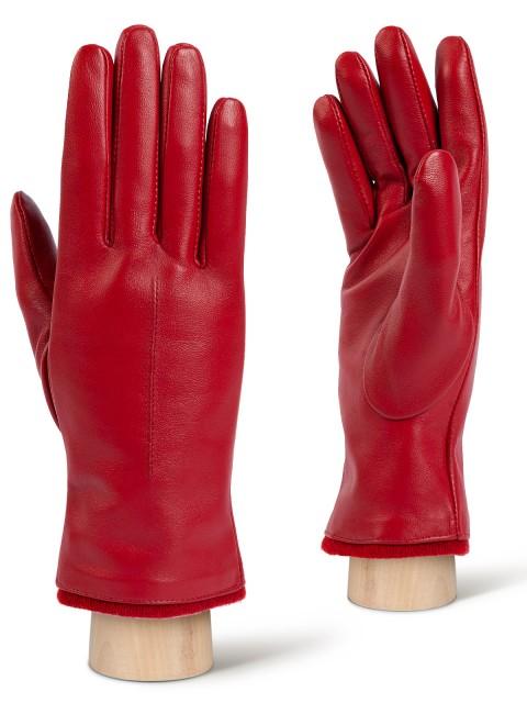 Женские перчатки из натуральной кожи ELEGANZZA