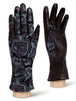 Элегантные кожаные перчатки ELEGANZZA