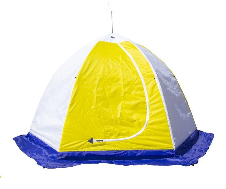Палатка СТЭК 2-местная дышащая трехслойная ELITE